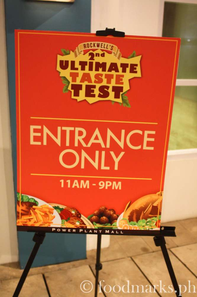 First Ultimate Taste Test Experience (1/6)